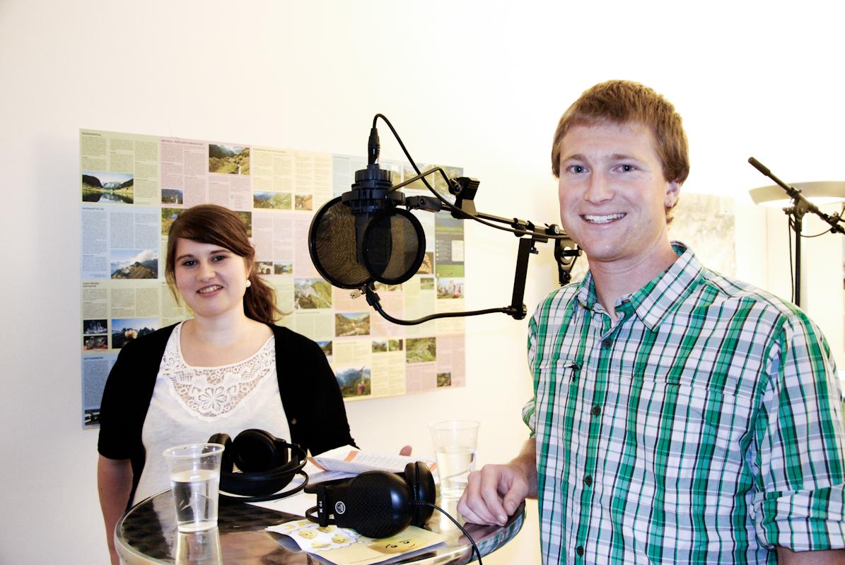 Nina Mettler (Juso) und Michael Cantoni (JCVP)