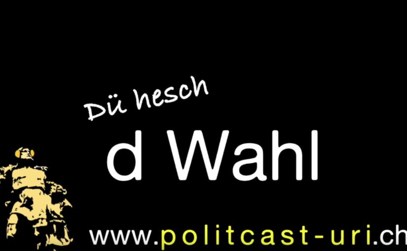 Landratswahlen 2016: Dü hesch d Wahl!