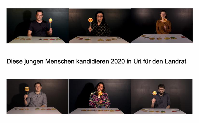 Das sind die jungen Kandidatinnen und Kandidaten für den Urner Landrat